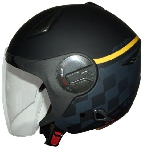 石野商会 イシノショウカイ ジェットヘルメット RENAULT ルノー オープンフェイスヘルメット