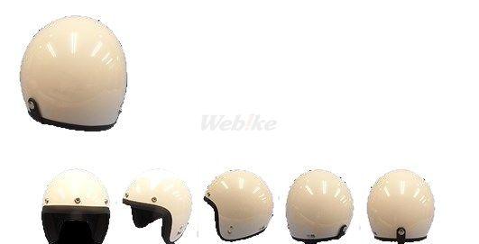 72JAM 72ジャム ジェットヘルメット pearl gold white