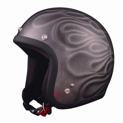 72JAM 72ジャム ジェットヘルメット GHOST FLAME サイズ:フリー(57cm-60cm未満)