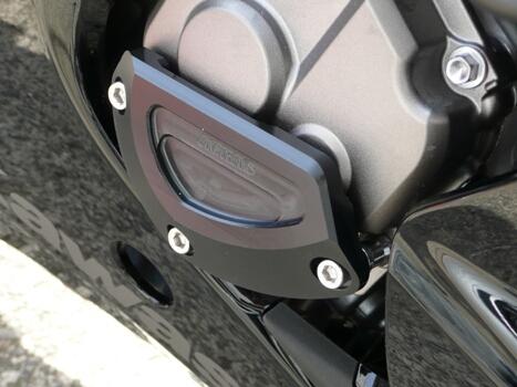 【ポイント5倍開催中!!】【クーポンが使える!】 AGRAS アグラス ガード・スライダー レーシングスライダー 2点セット タイプB カラー:ブラック ZX-10R