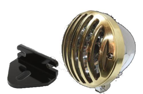 ガレージT&F 4.5インチバードゲージヘッドライト&ライトステー(タイプE)キット W650