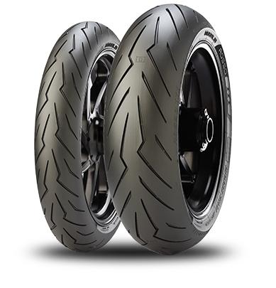 PIRELLI ピレリ DIABLO ROSSO III【180/55 ZR17 M/C (73W) TL】ディアブロ ロッソ III タイヤ