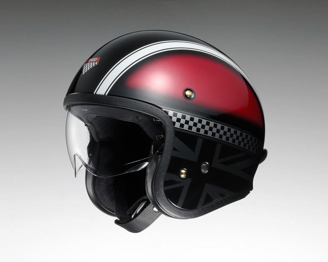 SHOEI ショウエイ ジェットヘルメット J・O HAWKER [ジェイ・オー ホーカー TC-1 RED/SILVER] ヘルメット サイズ:S