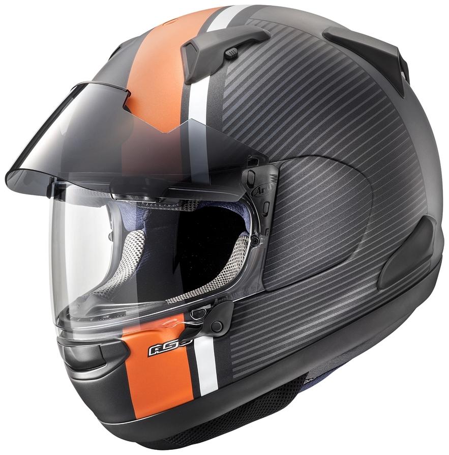 Arai アライ フルフェイスヘルメット ASTRAL-X TWIST ORANGE [アストラル エックス ツイスト オレンジ (つや消し)] ヘルメット サイズ:54cm