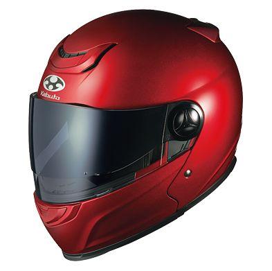 【在庫あり】OGK KABUTO オージーケーカブト システムヘルメット AFFID [アフィード シャイニーレッド] ヘルメット サイズ:S
