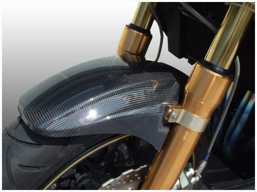 才谷屋 サイタニヤ フロントフェンダー 素材:FRP(カラー:メタリックスパークブラック) ZRX1200ダエグ