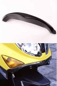 COERCE コワース スクーター外装 RSリップスポイラー 素材:FRP カラー:白ゲルコート TMAX500