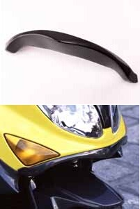 COERCE コワース スクーター外装 RSリップスポイラー 素材:FRP カラー:黒ゲルコート TMAX500