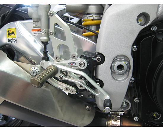Robby Moto Engineering ロビーモトエンジニアリング バックステップ EVO [エボ] モデル RSV4R RSV4R ファクトリー