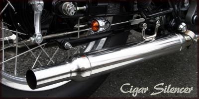 BOATRAP ボートラップ スリップオンマフラー W650/W400専用シガーサイレンサーキット W400 W650