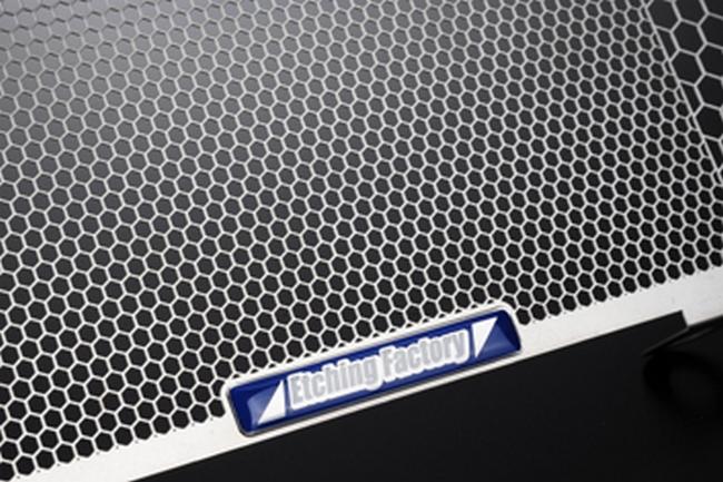 【在庫あり】ETCHING FACTORY エッチングファクトリー コアガード GSR750 (ALL) /GSX-S750 (17-) 用 ラジエターガード GSR750 全年式 GSX-S750 17-
