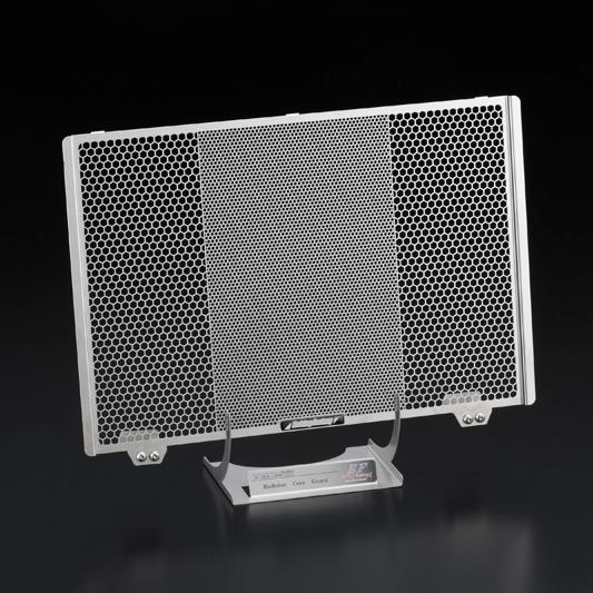 【在庫あり】【イベント開催中!】 ETCHING FACTORY エッチングファクトリー MT-09/XSR900用 ラジエターコアガード 本体カラー:シルバー MT-09 XSR900
