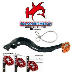 HammerHead ハマーヘッド ブレーキペダル・シフトペダル リアブレーキペダル ローテーティングティップ カラー:オレンジ