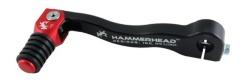 HammerHead ハマーヘッド ブレーキペダル・シフトペダル シフトペダル ラバーティップ オフセット:+15mm カラー:レッド R1200GS