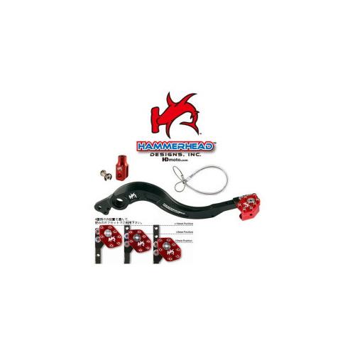 HammerHead ハマーヘッド ブレーキペダル・シフトペダル リアブレーキペダル ローテーティングティップ カラー:ブラック R1200GS