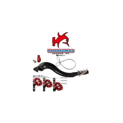 HammerHead ハマーヘッド リアブレーキペダル チタンティップ CRF250R CRF450R