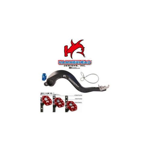 HammerHead ハマーヘッド ブレーキペダル・シフトペダル ブレーキペダル チタンティップ WR250 WR450F YZ250 YZ450F