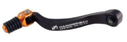 HammerHead ハマーヘッド ブレーキペダル・シフトペダル シフトペダル TYPE1 ラバーティップ オフセット:+15mm カラー:レッド KTM その他