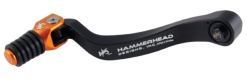HammerHead ハマーヘッド ブレーキペダル・シフトペダル シフトペダル TYPE2 ラバーティップ オフセット:-5mm カラー:オレンジ KTM その他