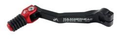 HammerHead ハマーヘッド ブレーキペダル・シフトペダル シフトペダル ラバーティップ オフセット:0mm カラー:レッド CRF250R CRF250X