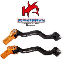 HammerHead ハマーヘッド ブレーキペダル・シフトペダル シフトペダル オフセット:+15mm カラー:レッド 65SX