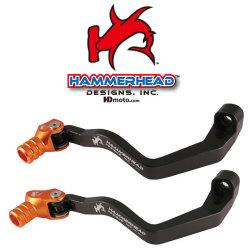 HammerHead ハマーヘッド ブレーキペダル・シフトペダル シフトペダル TYPE9 オフセット:+15mm カラー:レッド