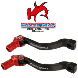 HammerHead ハマーヘッド ブレーキペダル・シフトペダル シフトペダル オフセット:+20mm カラー:レッド CRF150R