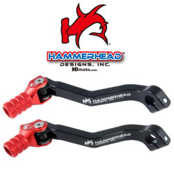 HammerHead ハマーヘッド ブレーキペダル・シフトペダル シフトペダル オフセット:+15mm カラー:ブラック CRF250R