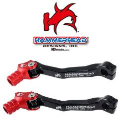 HammerHead ハマーヘッド ブレーキペダル・シフトペダル シフトペダル オフセット:+20mm カラー:レッド CRF450R CRF450X
