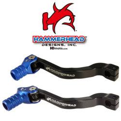 HammerHead ハマーヘッド ブレーキペダル・シフトペダル シフトペダル オフセット:+20mm カラー:ブルー YZ85