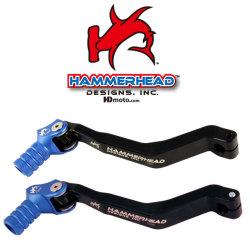 HammerHead ハマーヘッド ブレーキペダル・シフトペダル シフトペダル オフセット:+20mm カラー:ブルー YZ250