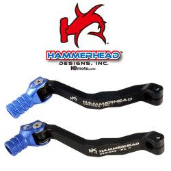 HammerHead ハマーヘッド ブレーキペダル・シフトペダル シフトペダル オフセット:0mm カラー:グリーン WR400F WR426F WR450F YZ400F YZ426F YZ450F