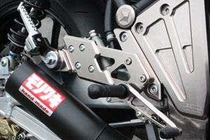 MORIWAKI ENGINEERING モリワキエンジニアリング バックステップキット カラー:ブラック ゼファー1100 全年式