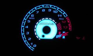 【在庫あり】ODAX オダックス その他メーター関連 ELメーターパネル CBR1000RR 04-07