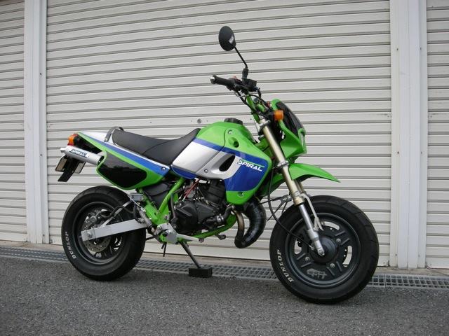 ガレージスパイラル Garage-SPIRAL チャンバー「スパイラル」R アップ KSR-1 KSR-2