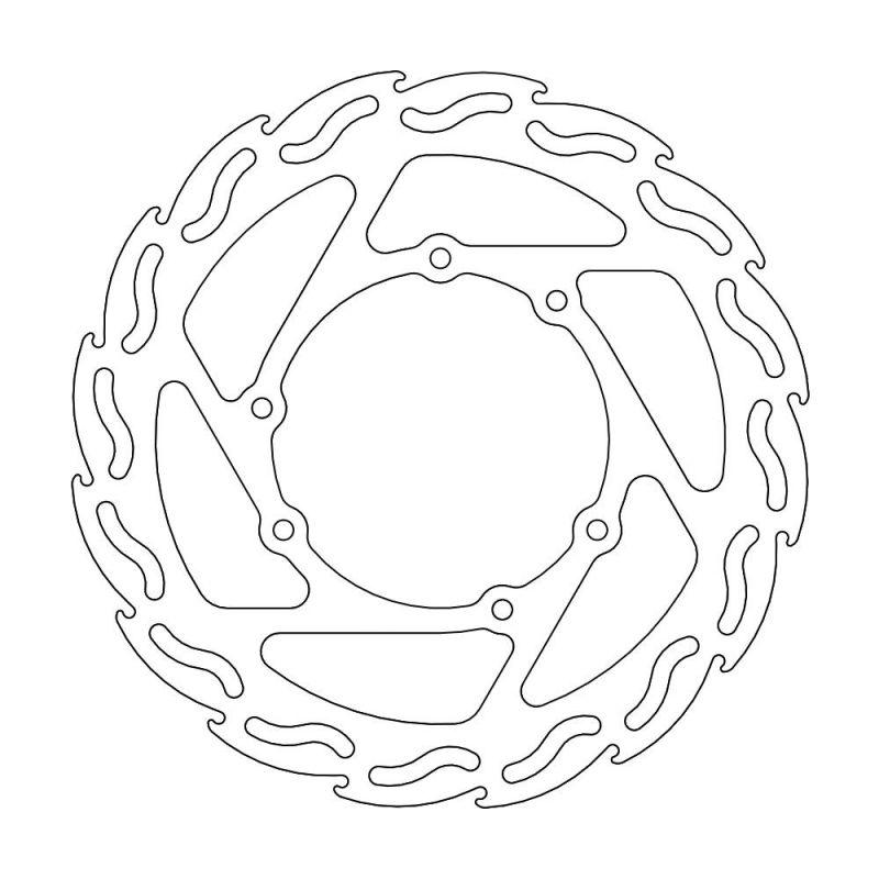 MOTOMASTER モトマスター ディスクローター フレイム ステンローター フロント用 CR125 CR250 CRF250 04-11 CRF450 02-11
