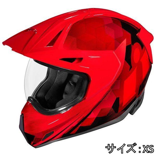 ICON アイコン フルフェイス ヘルメット バイク HELMET VARIANT PRO ASCENSION バリアント プロ アセンション ヘルメット サイズ:XS