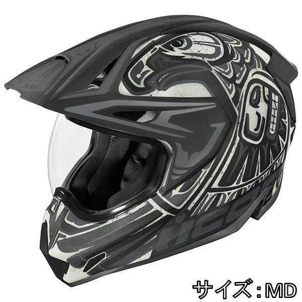 ICON アイコン フルフェイス ヘルメット バイク HELMET VARIANT PRO TOTEM バリアント プロ トーテム ヘルメット サイズ:MD