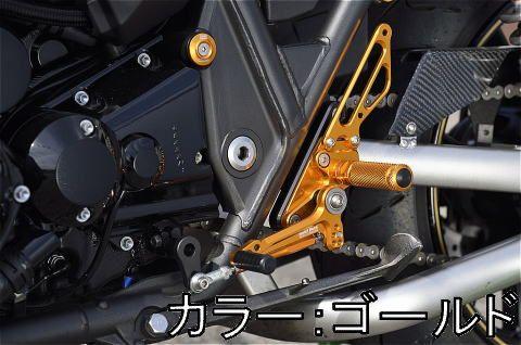 【在庫あり】BABYFACE ベビーフェイス バックステップ ZRX1200ダエグ
