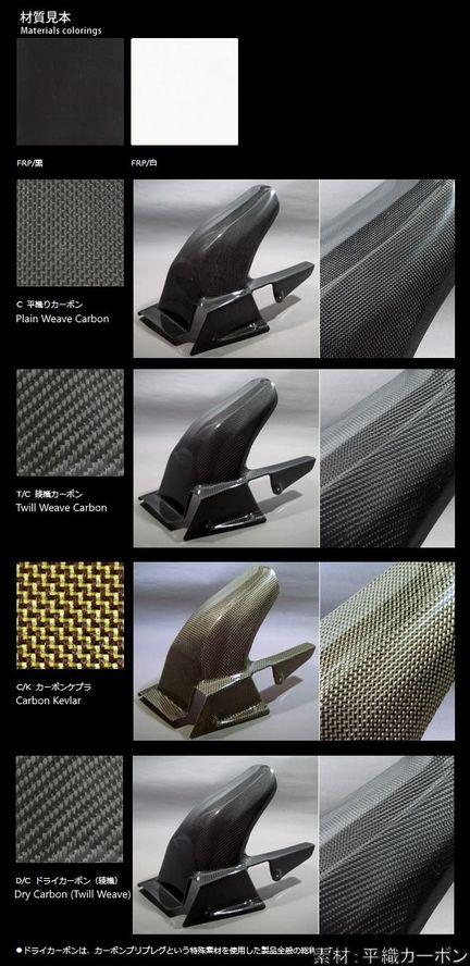 A-TECH エーテック Aテック ビキニカウル・バイザー ビキニカウル 素材:平織カーボン(C) GSF1200 95-99