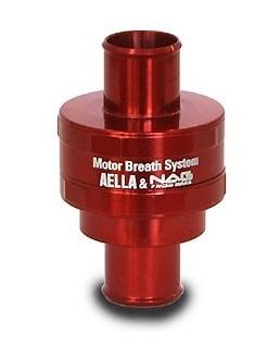 AELLA アエラ 減圧バルブ類 クランクケース内圧コントロールバルブ(ハスクSM250用Φ12) カラー:ブラック (特色) SM250
