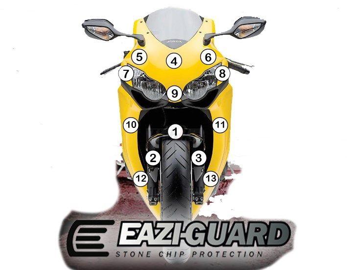 その他外装関連パーツ イージーガード 外装プロテクションフィルム 【Eazi-Guard】 CBR1000RR 2008-2011