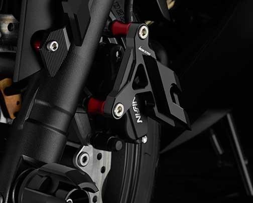 BIKERS バイカーズ ガード・スライダー Front Caliper Brake Guard タイプ:Left CB650F、CBR650F