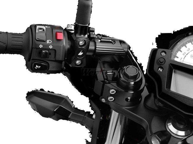 BIKERS バイカーズ セパレートハンドル Adjustable Handle Bar Set with Handle Bar Caps ER-6N, ブライダルアクセ専門店ブルージュ:710e3929 --- kiora.jp