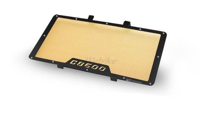 Dimotiv ディモーティヴ コアガード ラジエーターガードスタンダード(Radiator Guard - Standard) カラー:Gold CB600 F Hornet 2007-2012