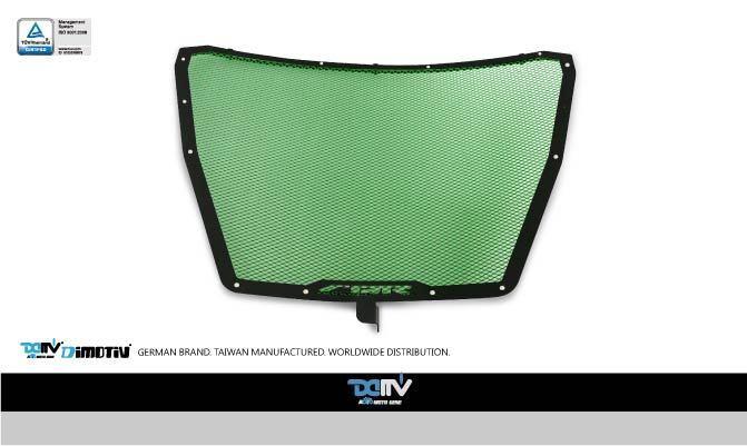 Dimotiv ディモーティヴ コアガード ラジエーターガードスタンダード(Radiator Guard - Standard) カラー:Dark Green CBR1000 RR 2015-2016