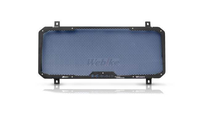 Dimotiv ディモーティヴ コアガード ラジエーターガードスタンダード(Radiator Guard - Standard) カラー:Blue Z650 17-18