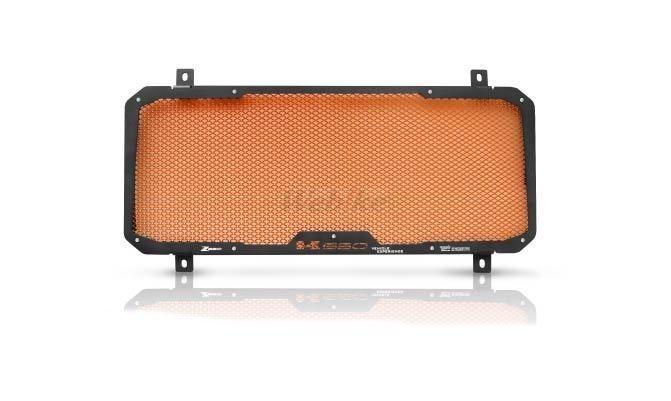 Dimotiv ディモーティヴ コアガード ラジエーターガードスタンダード(Radiator Guard - Standard) カラー:Orange Z650 17-18