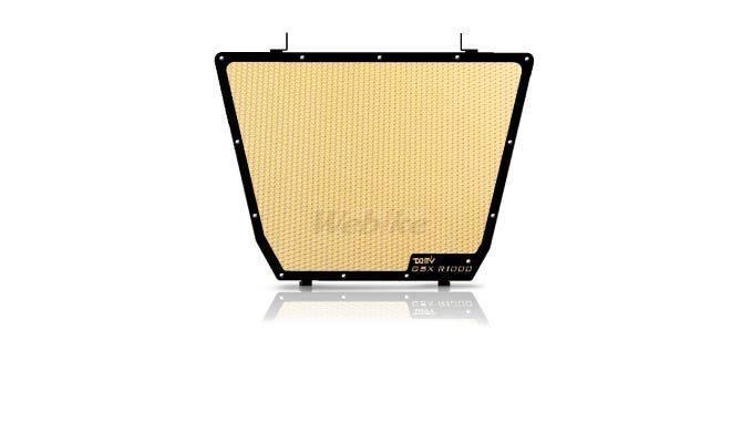 Dimotiv ディモーティヴ コアガード ラジエーターガードスタンダード(Radiator Guard - Standard) カラー:Gold GSX-R 1000 12-16