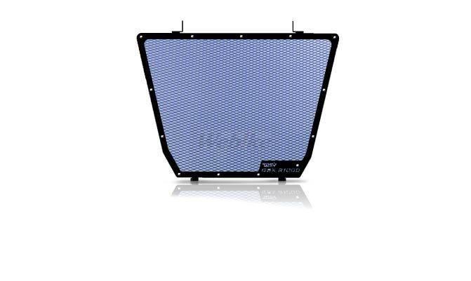 Dimotiv ディモーティヴ コアガード ラジエーターガードスタンダード(Radiator Guard - Standard) カラー:Blue GSX-R 1000 12-16